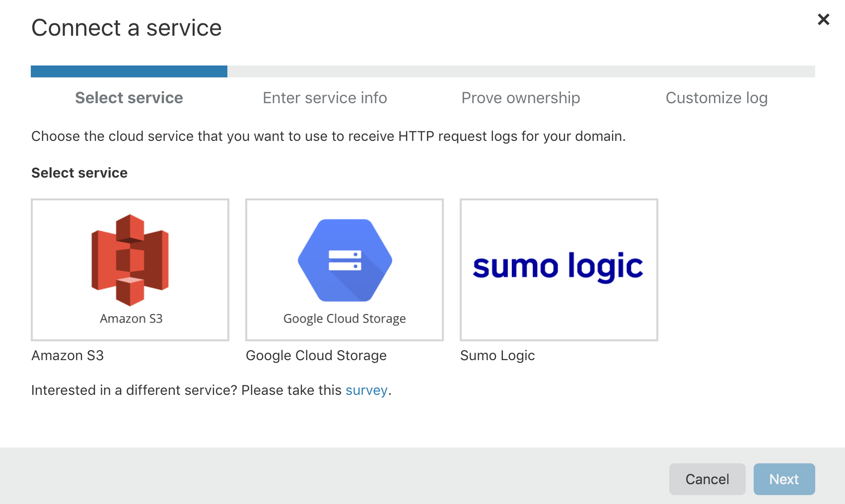 Use Cloudflare Logpush to send logs directly to Sumo Logic