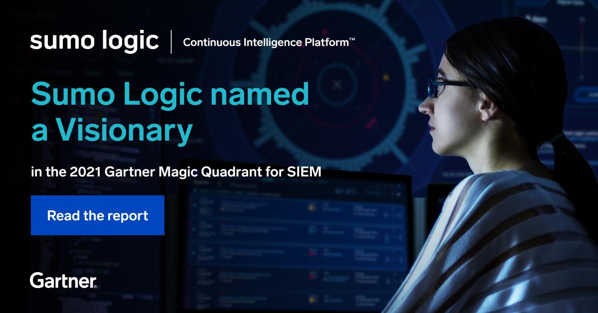Gartner's 2021 Magic Quadrant for Security Information and Event Management (SIEM)
