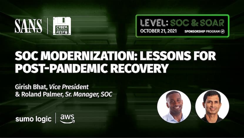 SOC Modernization: Lessons for Post-Pandemic Recovery