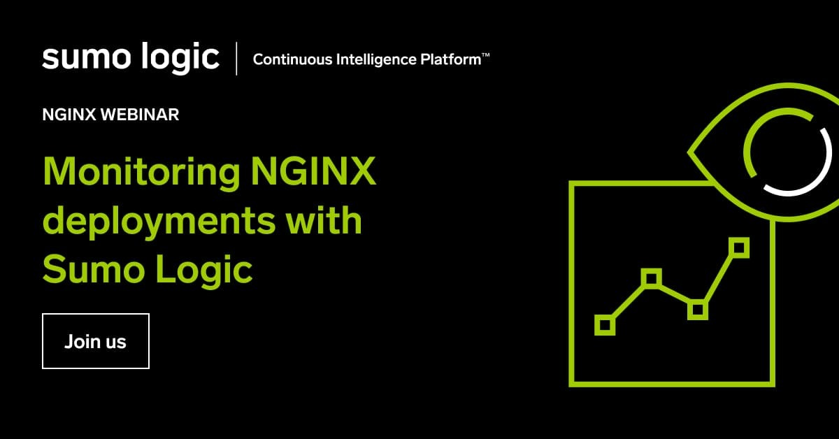 Monitoring NGINX Deployments with Sumo Logic