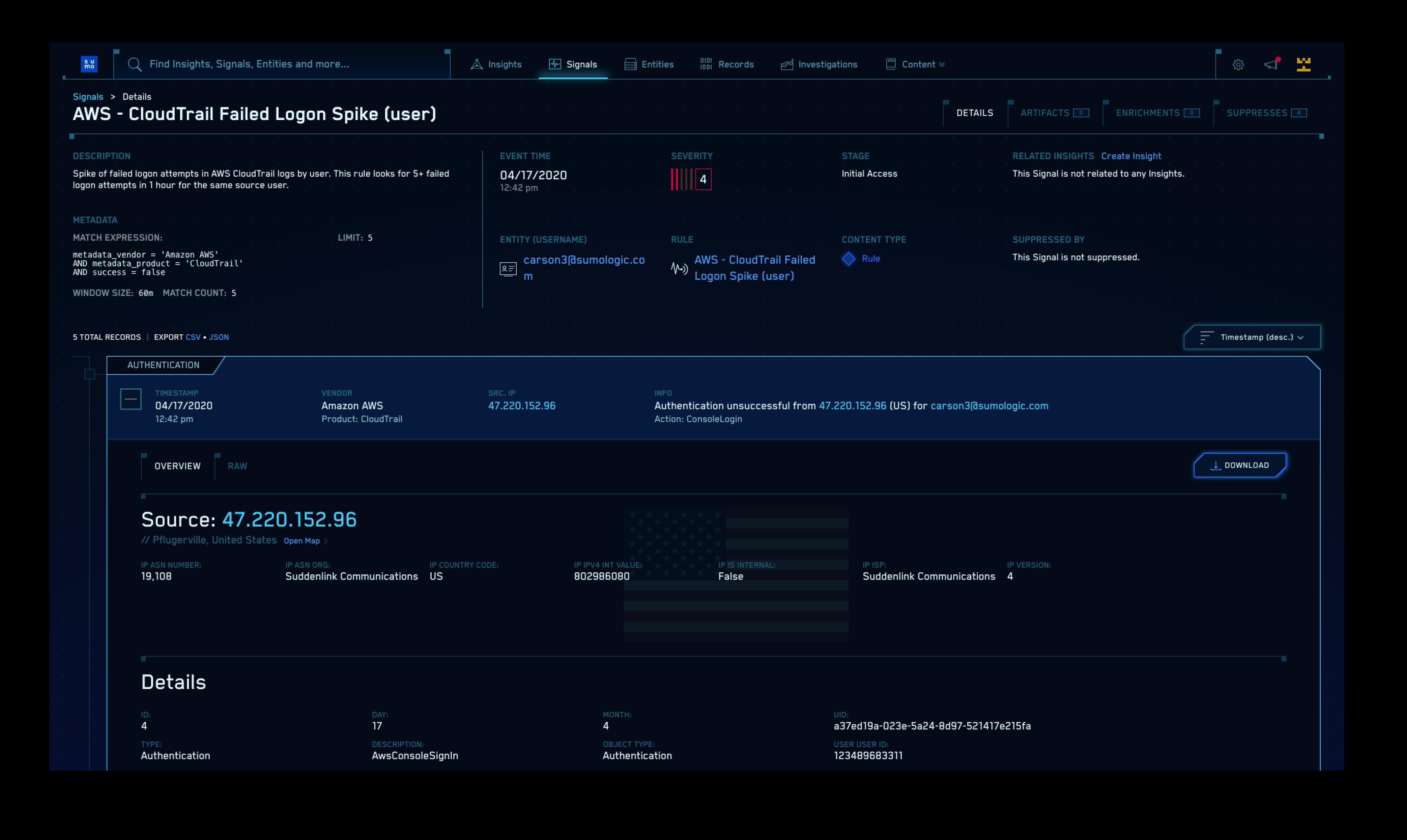 ログ以外のセキュリティ テレメトリ: ネットワーク、ユーザ、アセット、API