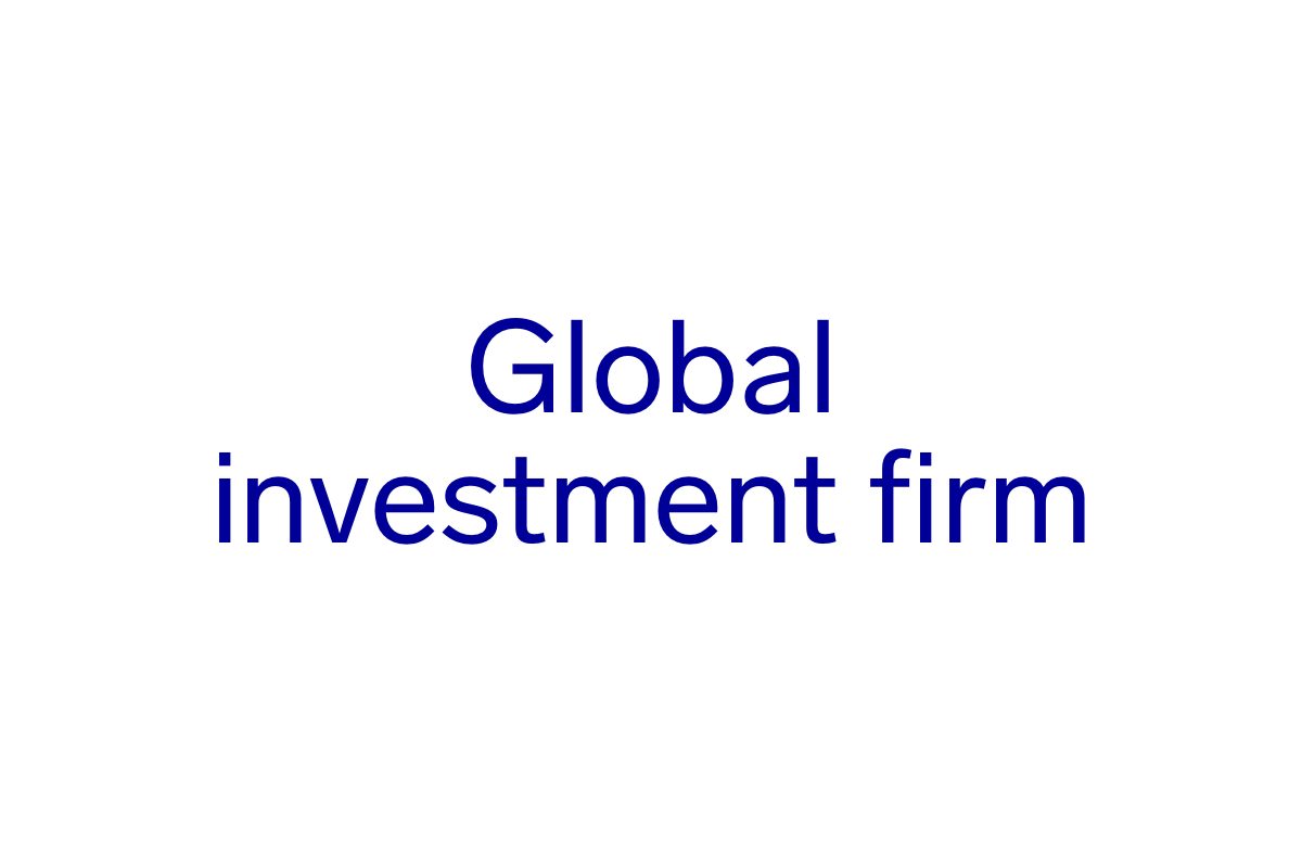 Global Investment Firm